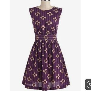 ModCloth Purple Petunia Dress by Emily and Fin